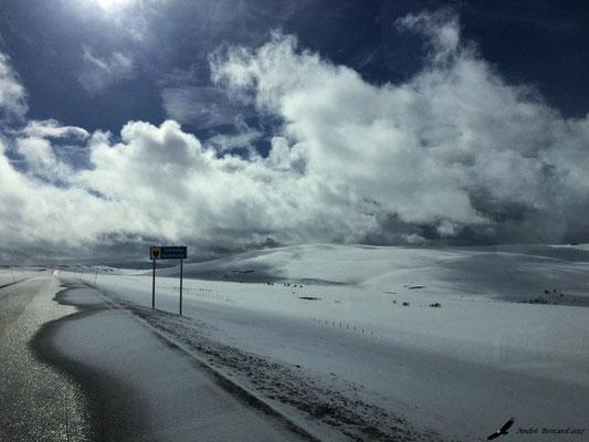 route entre Tana Bru et Narvic
