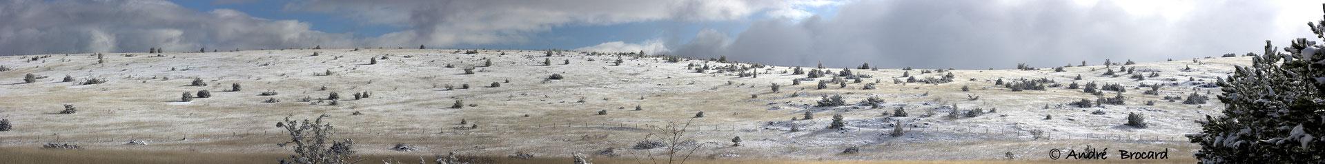 Causse de Sauveterre sous la neige 1