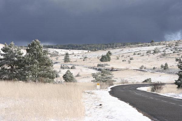 Causse de Sauveterre sous la neige 2