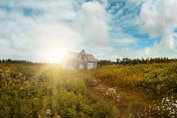 Photo de paysage; Île Bonaventure, Percé, Québec; 2015, photo voyage personnel; rôle: photographie, travail postproduction.