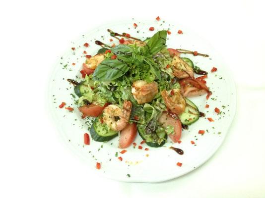 Salat King Prawns