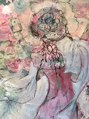 Blumenfrau Bildausschnitt