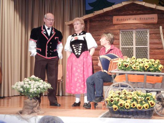 Jris mit Rosmarie und Fritz