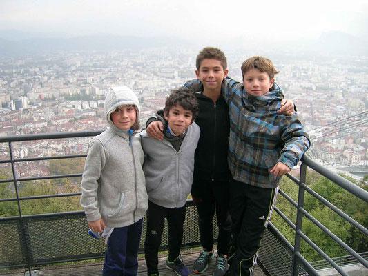 Hugo, Ethan, Tristan et Fred - Grenoble - 20/10/2015