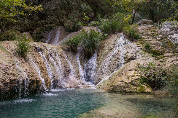 Waterval Polilimnio, Peloponnesos, Griekenland