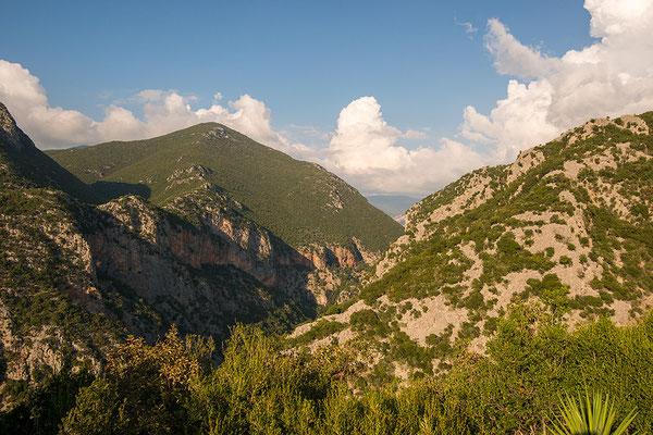 Berglandschap Peloponnesos, Griekenland