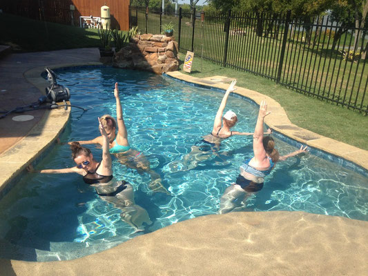 aqua yoga teacher training - dallas aqua yoga