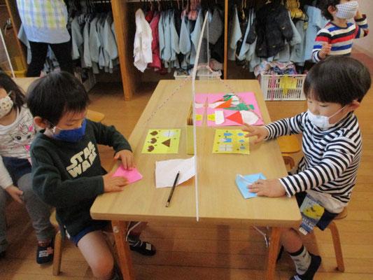折り紙製作