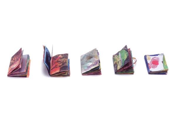 MAMEBON#3-7 /2004/ ミクスト・メディア/ 65×80×15 mm/ 30P
