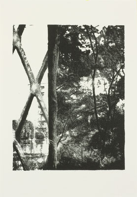 PAGE#16_passage  2017 170×210mm 紙に石版画