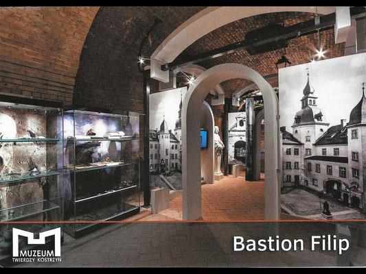 Postkarte des Museums Festung Küstrin