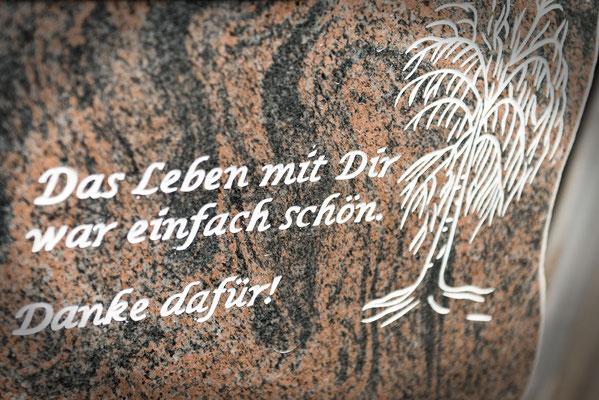 Steinbeschriftung Hamburg BRAUN + KOHLER