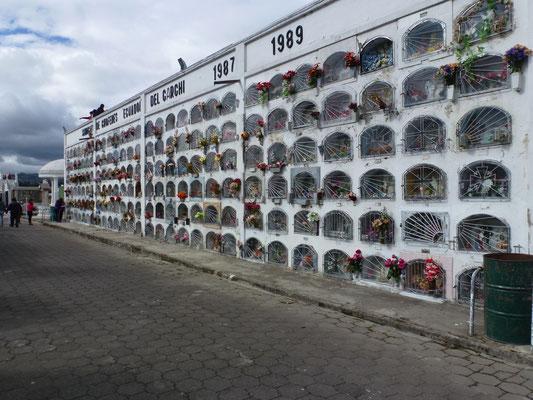 Tombes en casiers