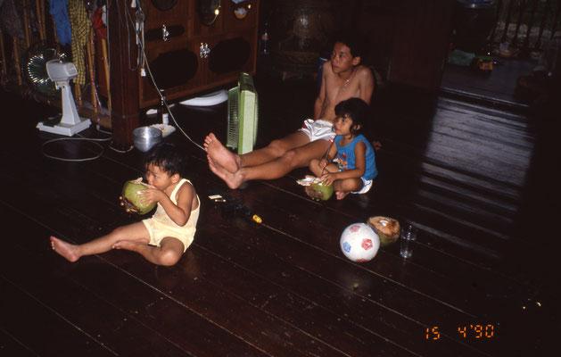 Dans une famille : logement chez l'habitant