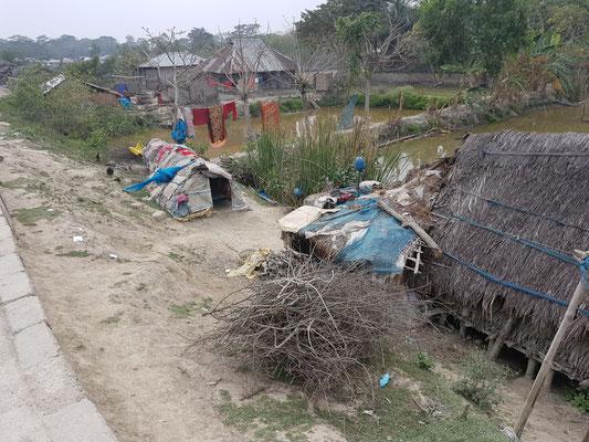 Tristes conditions d'habitation pour certaines familles