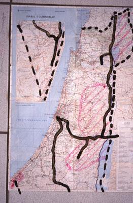 Itinéraire en Israel