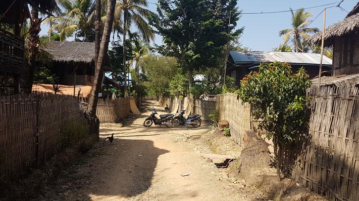 Dans un village isolé