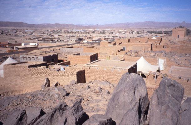 La ville de Tamanrasset, la porte du Sahara