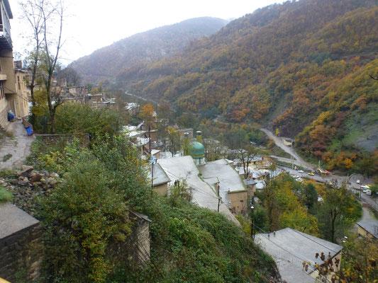 Village en espalier, et couleurs d'automne