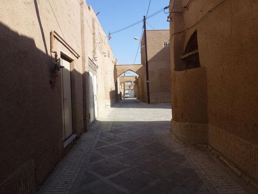 Ruelle dans Yazd