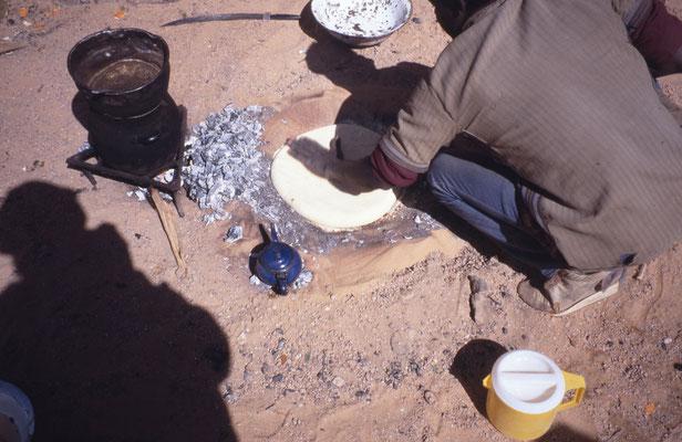 Préparation de la cuisson du pain