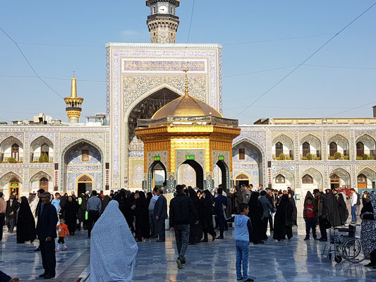 Mausolée à Mashhad (petit Versailles)
