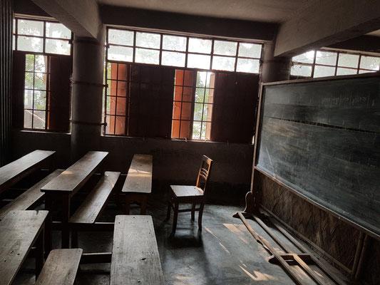 Salle de classe dans une école