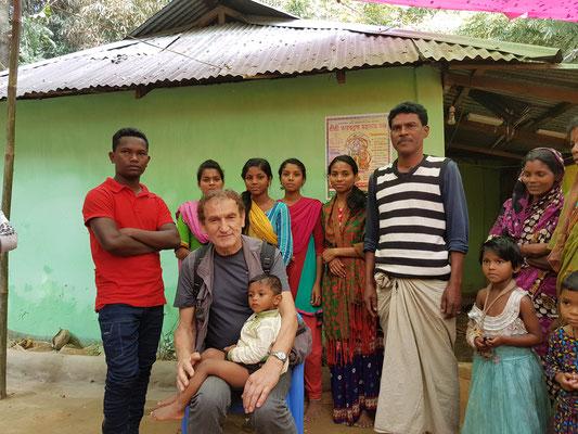 Dans un groupe de religion hindoue
