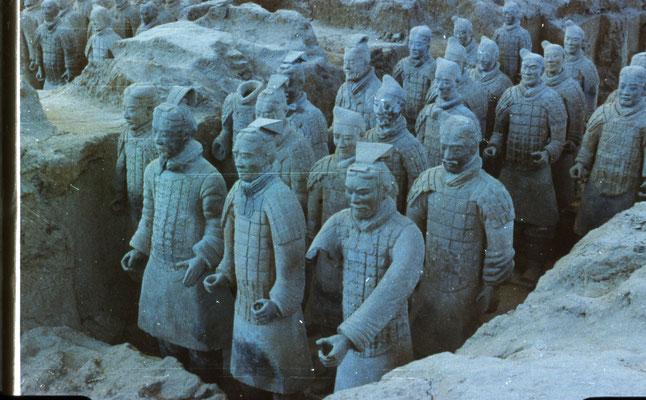 Xian : une armée en terre cuite