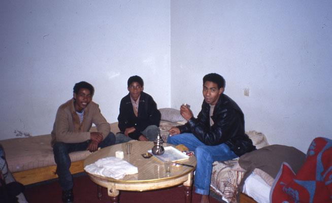 Première nuit au Maroc chez l'habitant