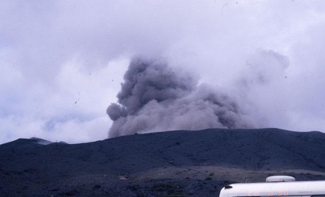 Volcan en activité