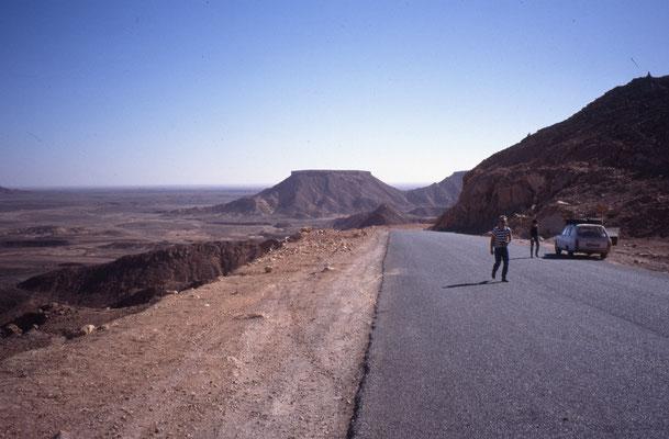Au sud de l'Algérie avec 2 Français