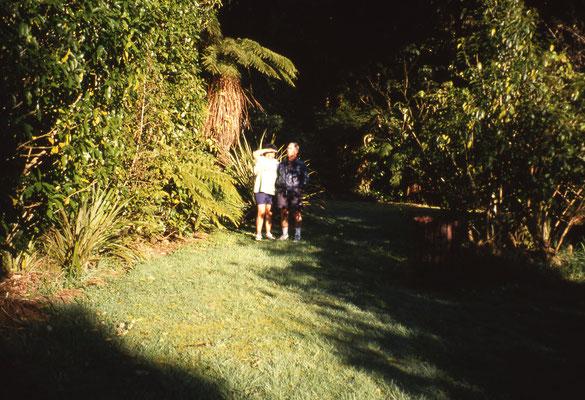 Dans une famille Maori