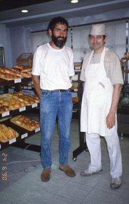 André, un copain d'enfance, boulanger au Japon