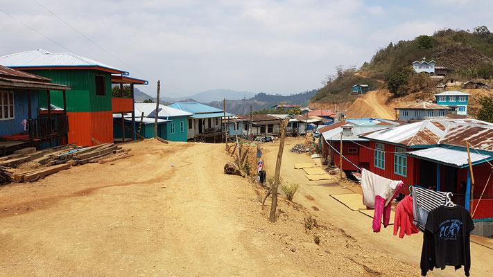 Une rue dans un village