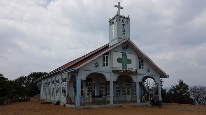 Eglise au nord de l'état de Chin