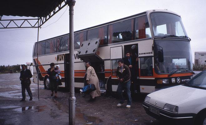 Bus Paris-Rabat