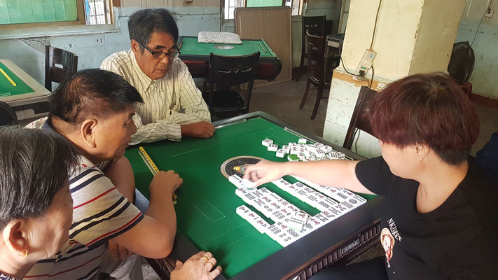 """Jeu de """"domino"""" chinois"""