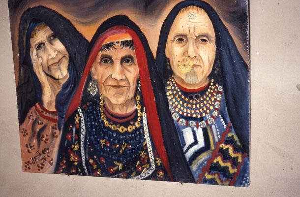 Peinture d'artiste local