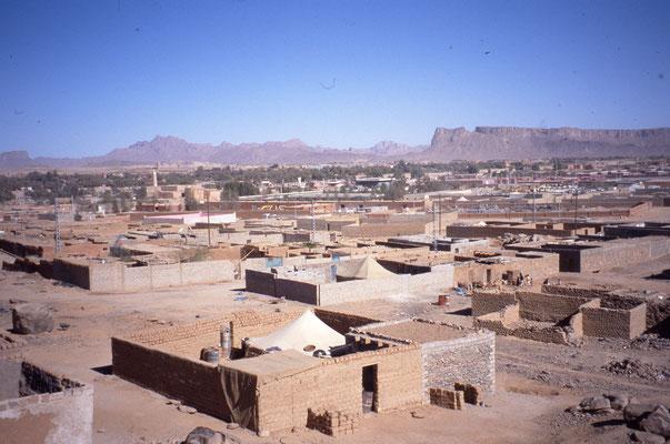 La ville de Tamanrasset