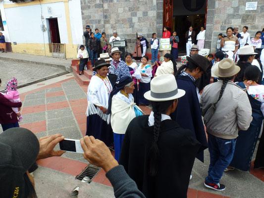 Mariage à la sortie de l'église