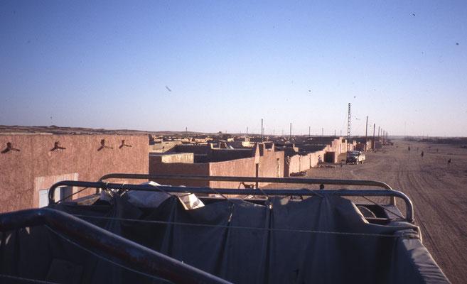 In Guézam, village au milieu du désert