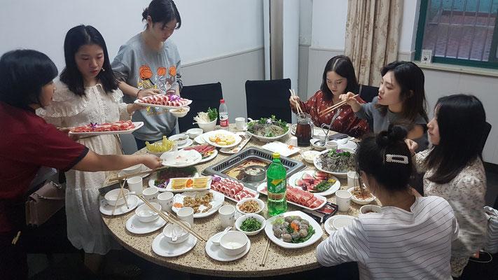 Un vrai repas chinois dans une ambiance très agréable