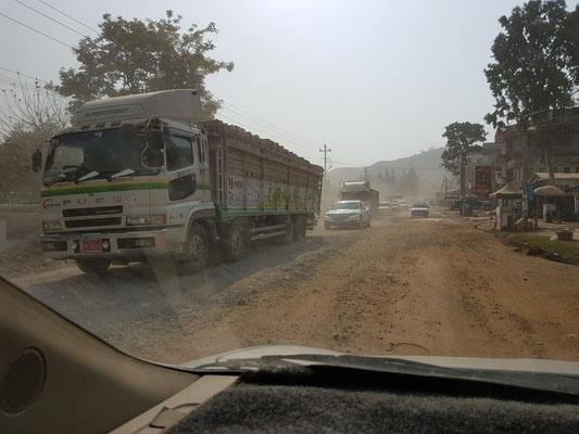 Une idée de l'état de certaines routes