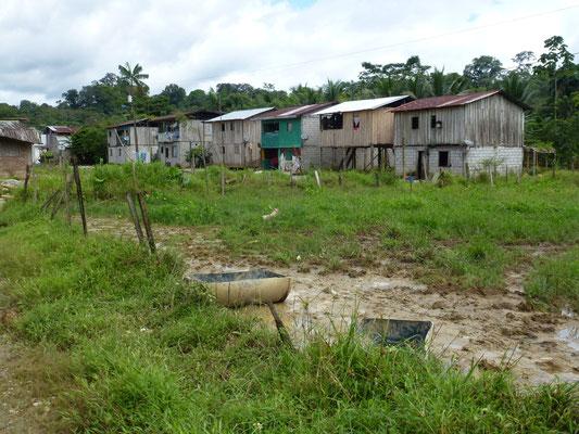 Habitations dans le village