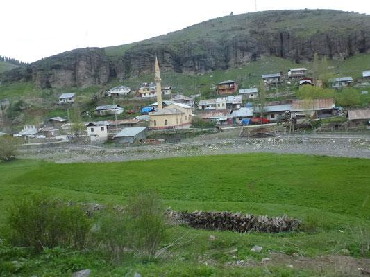 Petit village Kurde