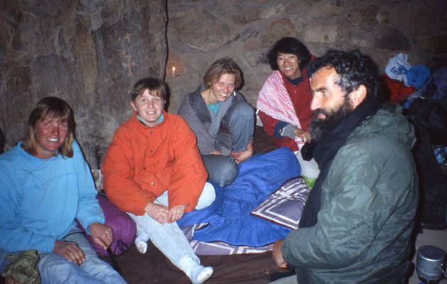 Refuge au sommet du mont Sinaï (2600m)
