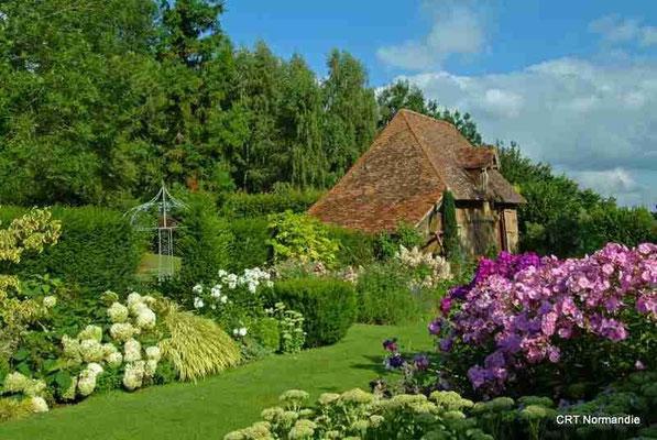 Le jardin de Cambremer, jardin remarquable 17 km