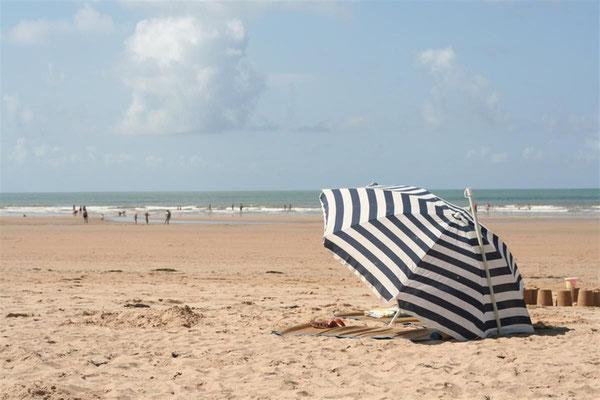 La plage à Cabourg 40 km