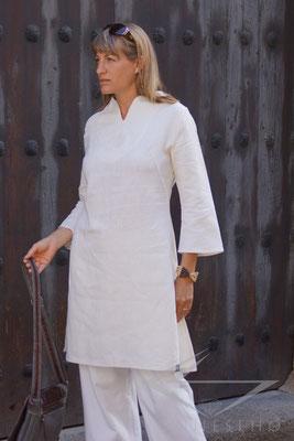 Leinen Tunika Leinenhemd maßgeschneidert aus Leinen
